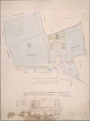 A survey of the land belonging to the hospital for the maintenance & education of exposed & deserted young children